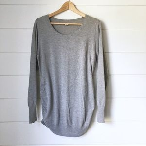 OLD NAVY Maternity Grey Sweater